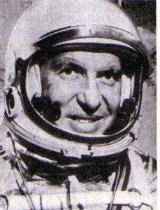 Astronaut Walter Marty Schirra