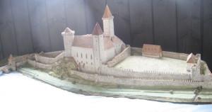 pisek_hrad_model
